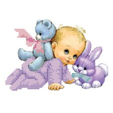 """""""Baby"""" - Bead embroidery pattern"""
