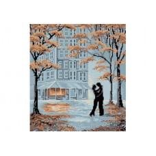 """Autumn evening"" - Bead embroidery pattern"