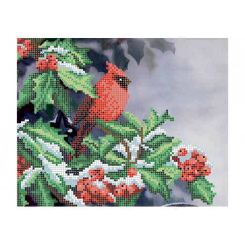 "Bead embroidery pattern ""Holly"""