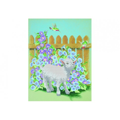 "Bead embroidery pattern ""Goat"""