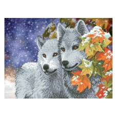 """""""Wolves"""" - Bead embroidery pattern"""