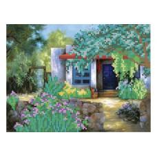 """Summer yard"" - Bead embroidery pattern"