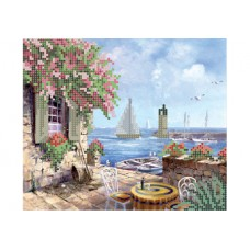 """""""White sails"""" - Bead embroidery pattern"""