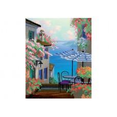 """Umbrellas"" - Bead embroidery pattern"