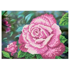 """The Queen of the Rose Garden"" - Bead embroidery pattern"