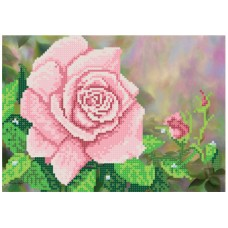 """""""The Queen of the White Garden"""" - Bead embroidery pattern"""