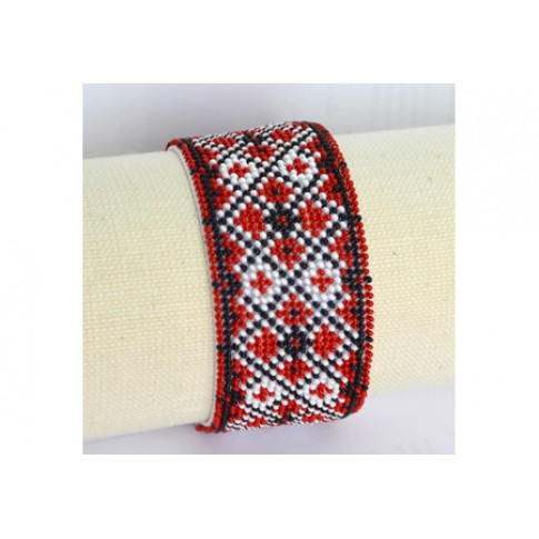 "Bracelet bead kit ""Rhombuses"""