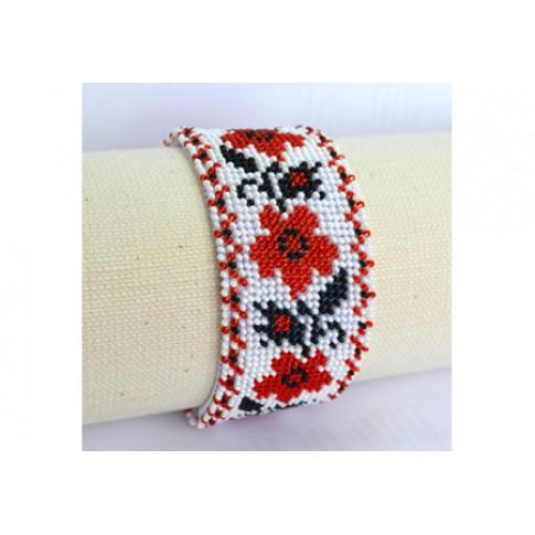"Bracelet bead kit ""Flowers"""