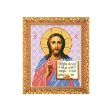 """Bead embroidery kit of icon """"Christ Pantocrator"""""""