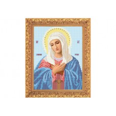 """Bead embroidery kit of icon """"Mother of God of Tenderness"""""""