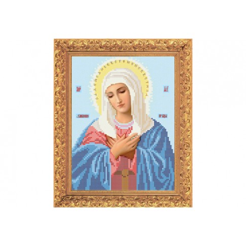 "Bead embroidery kit of icon ""Mother of God of Tenderness"""