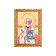 "Bead embroidery kit of icon ""Saint Nicholas"" А5"