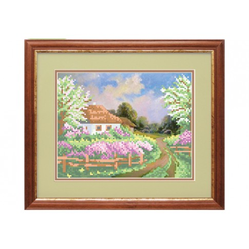 "Bead embroidery kit ""Way home"""