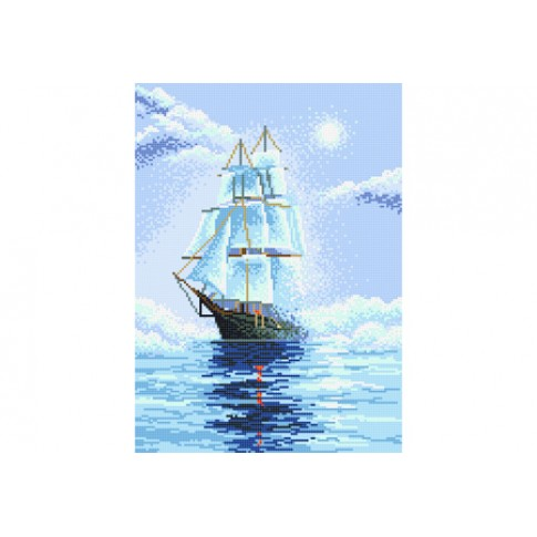 """Bead embroidery pattern """"Favourable wind"""""""