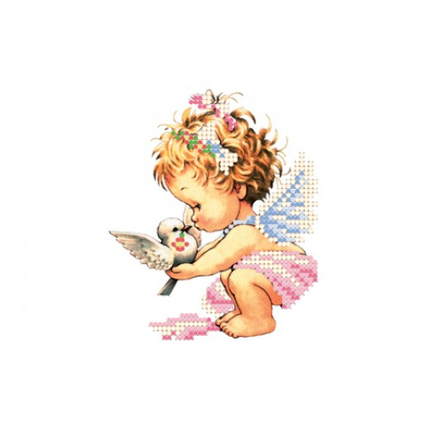 """Bead embroidery pattern """"Angel"""""""