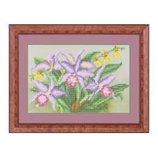 """Bead embroidery kit """"Orchid"""""""