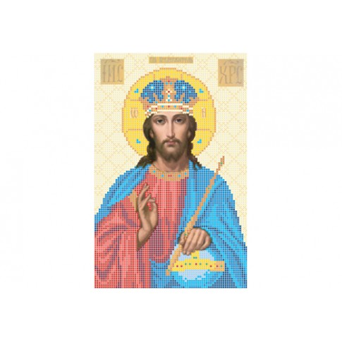 "Bead embroidery pattern of icon ""Lord Almighty"""