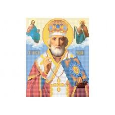 """Saint Nicholas"" - Bead embroidery pattern of icon"