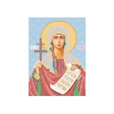 """Saint Tatiana of Rome"" - Bead embroidery pattern of icon"