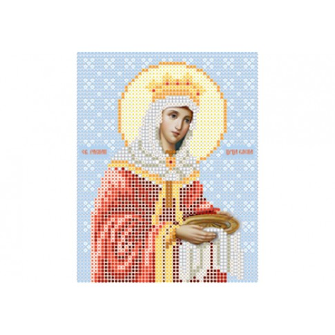 """Bead embroidery pattern of icon """"Saint Helena"""""""