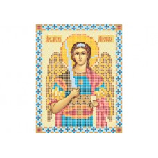 """""""Archangel Michael"""" - Bead embroidery pattern of icon"""