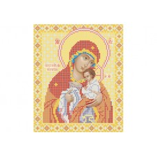 """Theotokos Chalice of Patience"" - Bead embroidery pattern of icon"