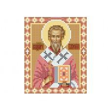 """Saint Valentine of Terni"" - Bead embroidery pattern of icon"