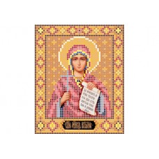 """Saint Natalia"" - Bead embroidery pattern of icon"