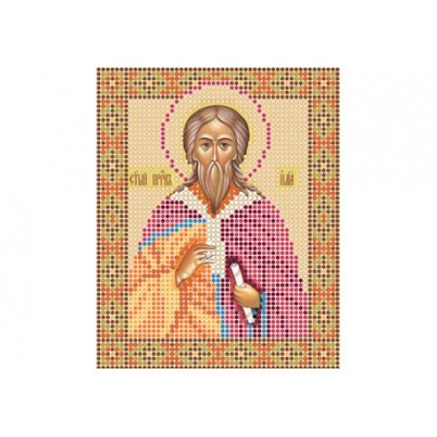 """Bead embroidery pattern of icon """"Saint Elias"""""""