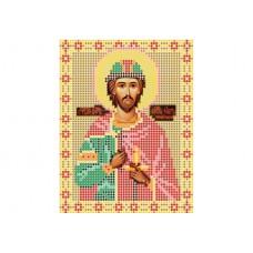 """Saint Igor, Prince of Chernigov"" - Bead embroidery pattern of icon"