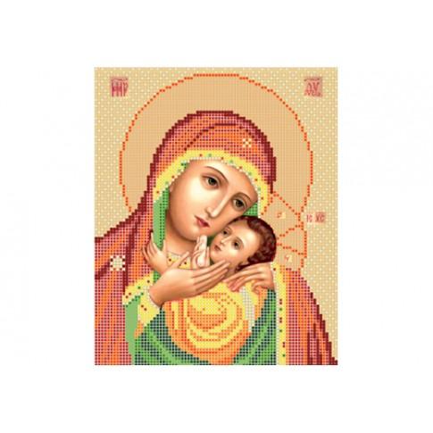 "Bead embroidery pattern of icon ""Mother of God Kasperovskaya"""