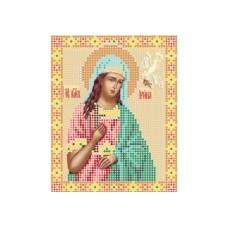 """Saint Irene"" - Bead embroidery pattern of icon"