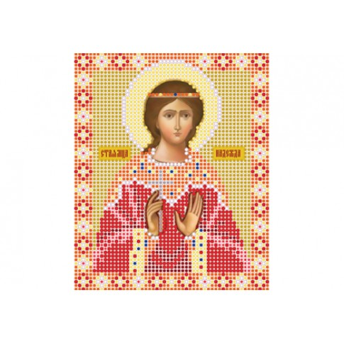 """Bead embroidery pattern of icon """"Saint Hope"""""""
