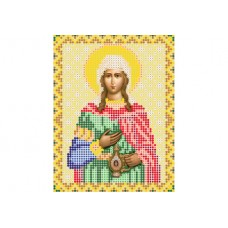 """Saint Photine"" - Bead embroidery pattern of icon"