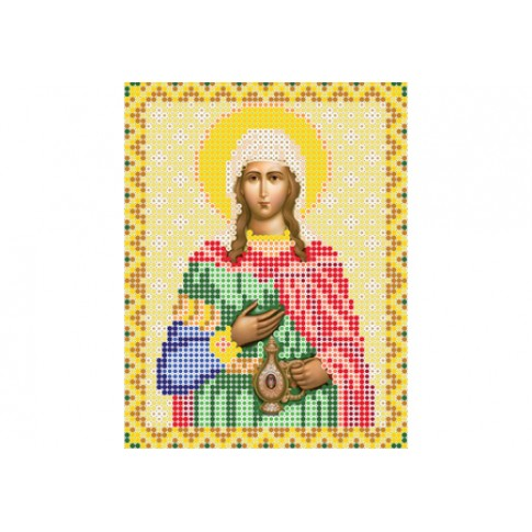 "Bead embroidery pattern of icon ""Saint Photine"""
