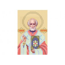 """""""Saint Nicholas A5"""" - Bead embroidery pattern of icon"""