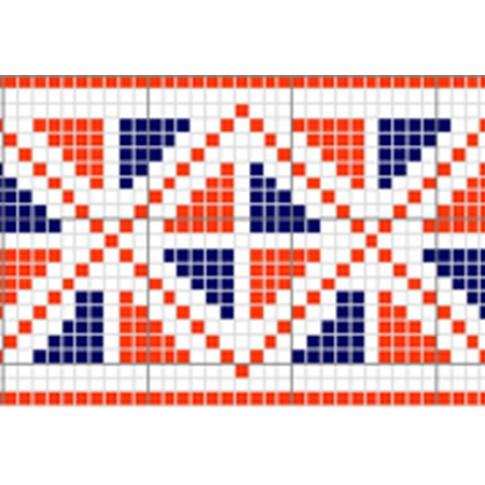 "Free cross stitch pattern ""Ornament 1"""