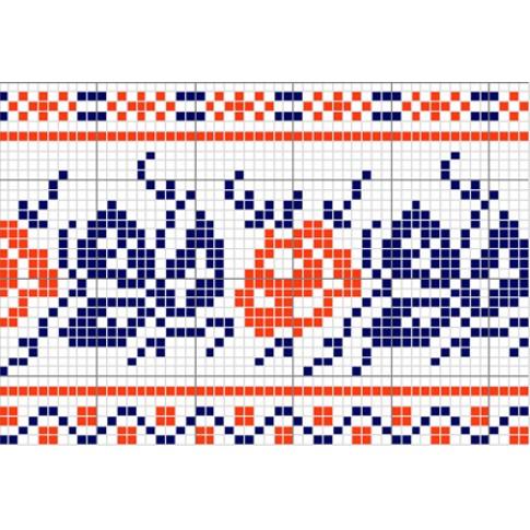 "Free cross stitch pattern ""Ornament 3"""