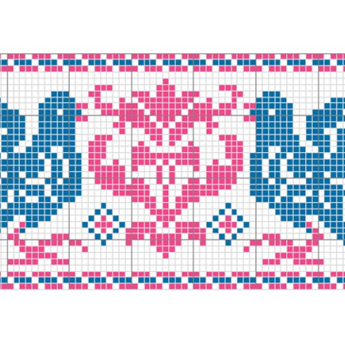"Free cross stitch pattern ""Ornament 4"""