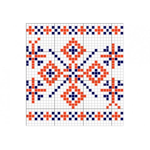 "Free cross stitch pattern ""Ornament 5"""