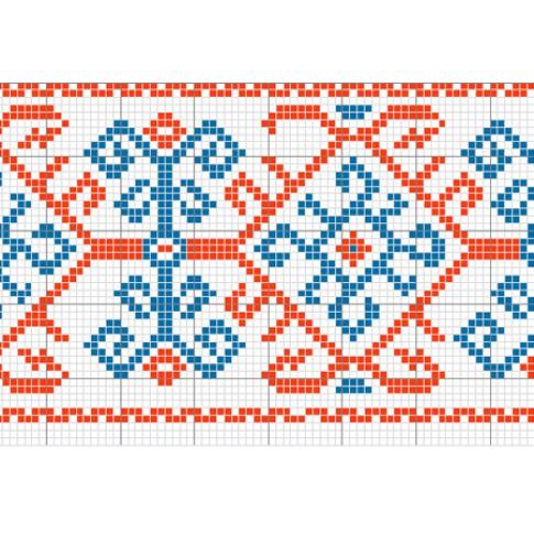 "Free cross stitch pattern ""Ornament 6"""