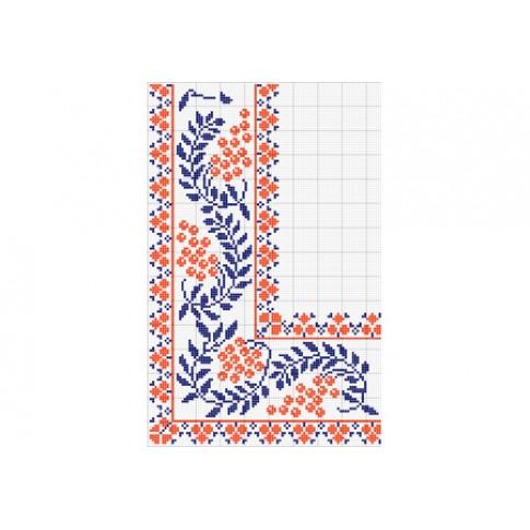 "Free cross stitch pattern ""Ornament 8"""
