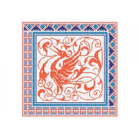 "Free cross stitch pattern ""Ornament 9"""