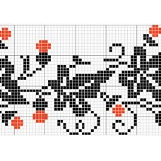 "Free cross stitch pattern ""Ornament 10"""