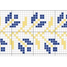 "Free cross stitch pattern ""Ornament 12"""