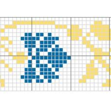 "Free cross stitch pattern ""Ornament 13"""