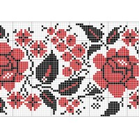 "Free cross stitch pattern ""Ornament 15"""
