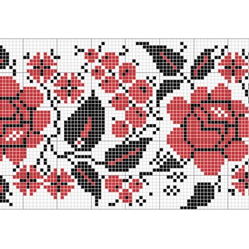 "Free cross stitch pattern ""Ornament 15"""