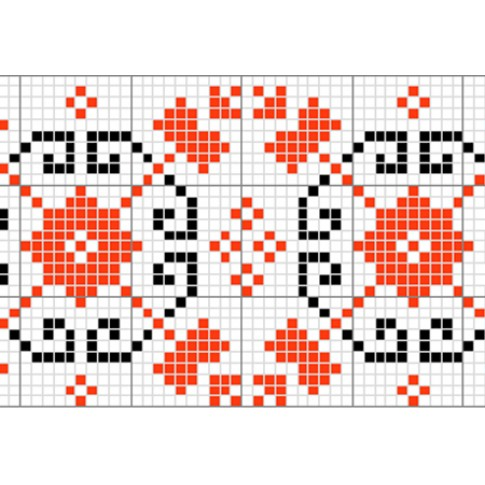 "Free cross stitch pattern ""Ornament 16"""