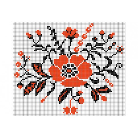 "Free cross stitch pattern ""Ornament 19"""